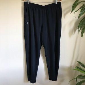 Under Armour Black Athletic Track Pants XL